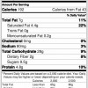 Vegan Granola Nutrition Facts